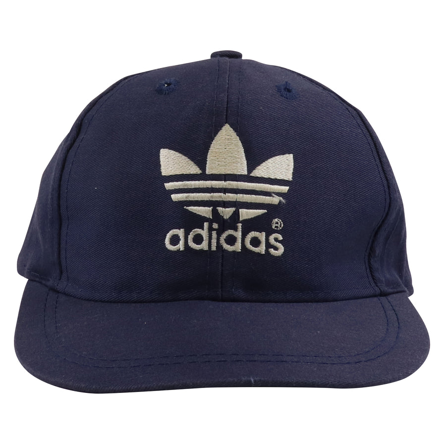 1990s Adidas Embroidered Trefoil Snapback Hat Youth