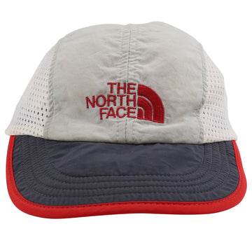 1990s North Face Mesh Insert Cycling Strapback Hat