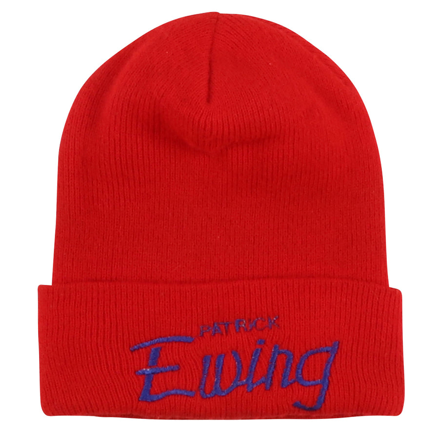 1990s Starter Patrick Ewing Knit Beanie