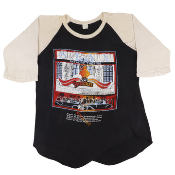 1981 Styx Paradise Theatre Parking Lot Raglan T-Shirt L