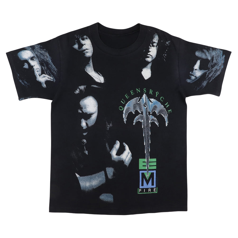 1992 Queensryche Empire Mega Print T-Shirt M