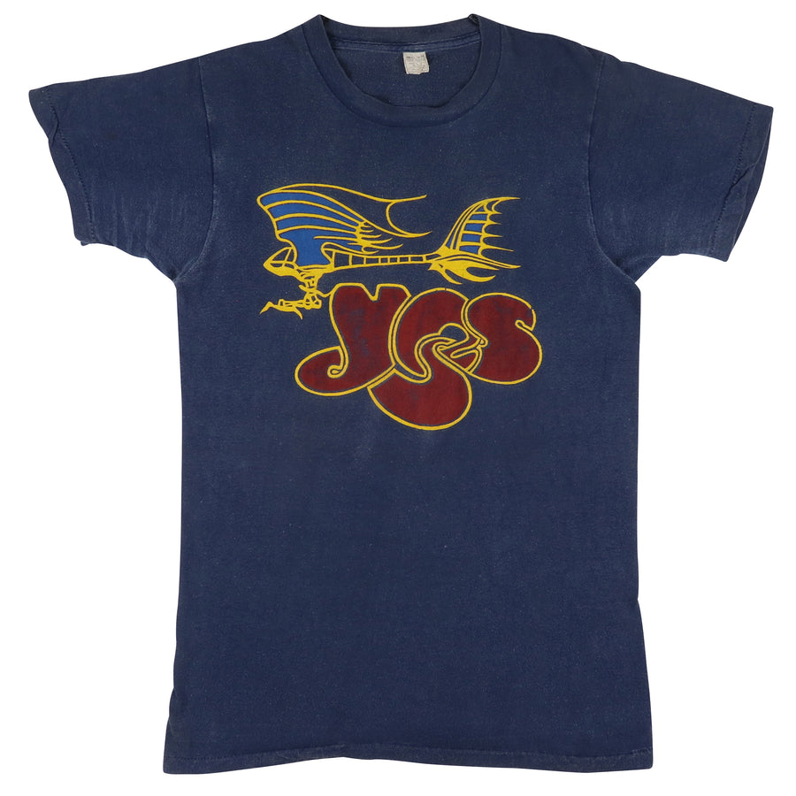 1971 Yes Fragile Album Promo Concert T-Shirt S