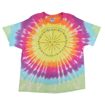 1988 Grateful Dead Everybody's Dancin' In A Ring Around The Sun Tie Dye T-Shirt XL