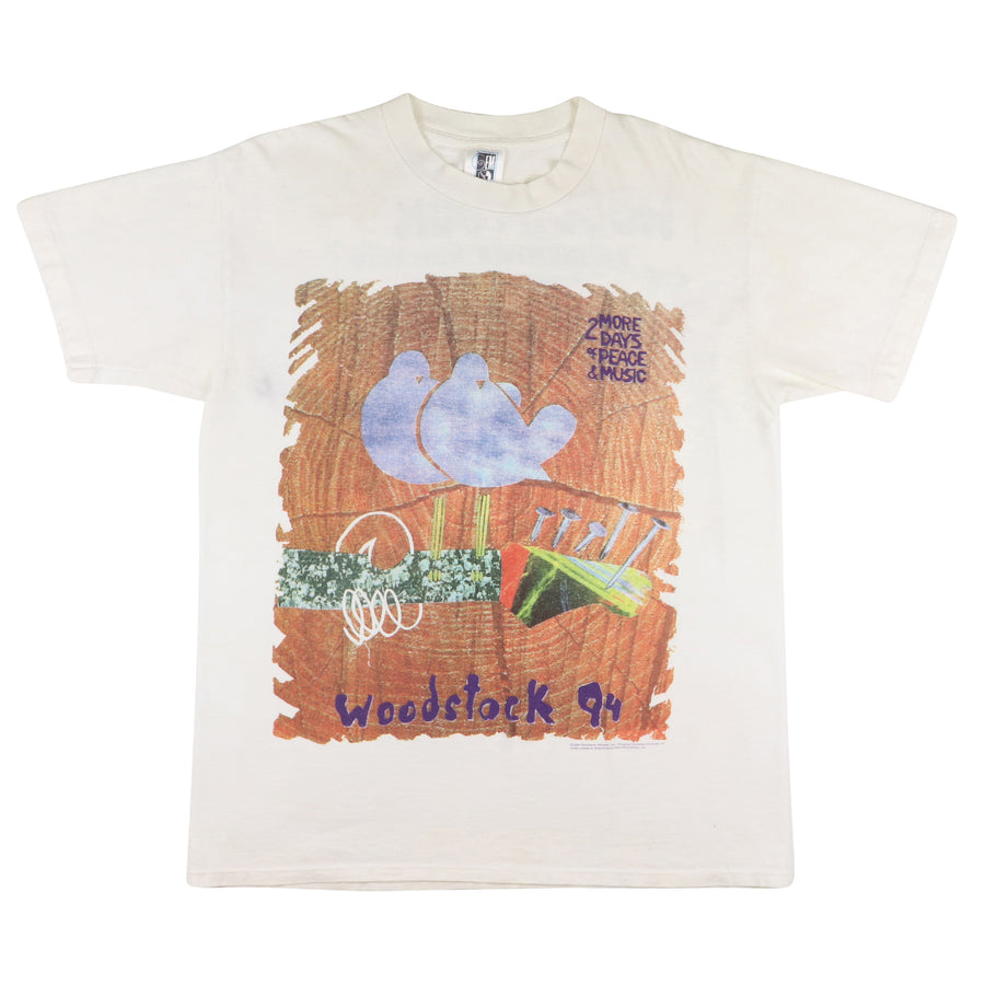 1994 Woodstock Festival 2 More Days Of Peace & Music T-Shirt L
