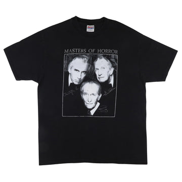 1990s Masters Of Horror Vincent Price Christopher Lee Peter Cushing T-Shirt XL
