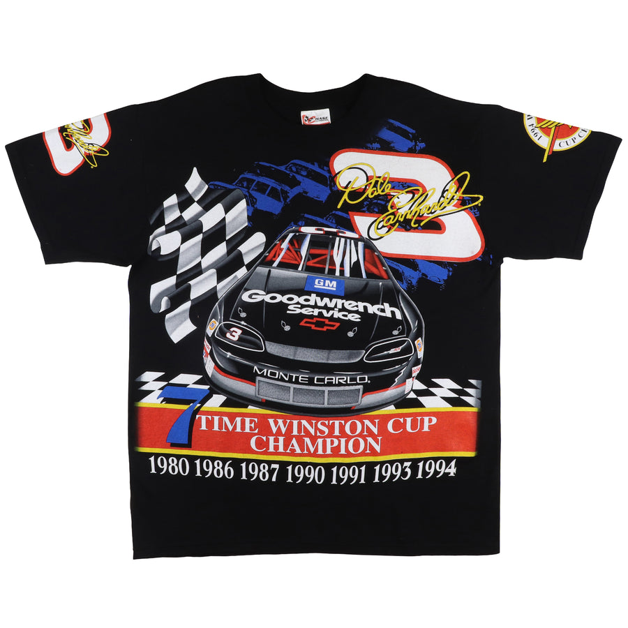1994 Dale Earnhardt 7 Time Winston Cup Champion T-Shirt L