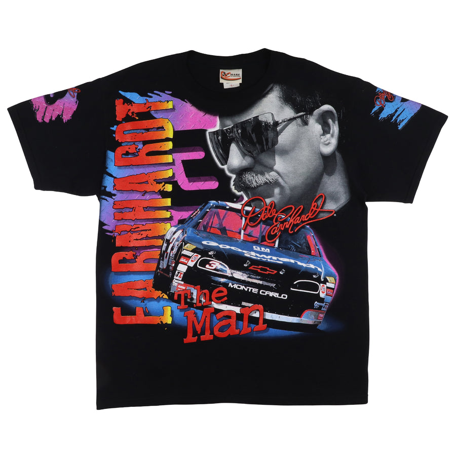 1990s Dale Earnhardt The Man Born To Run T-Shirt L