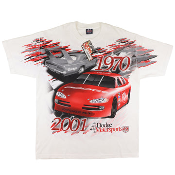 2001 Dodge Motorsports We're Back T-Shirt XL