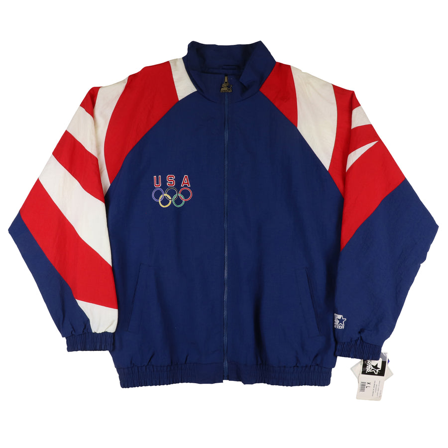 1996 Starter USA Olympic American Legend Jacket XL