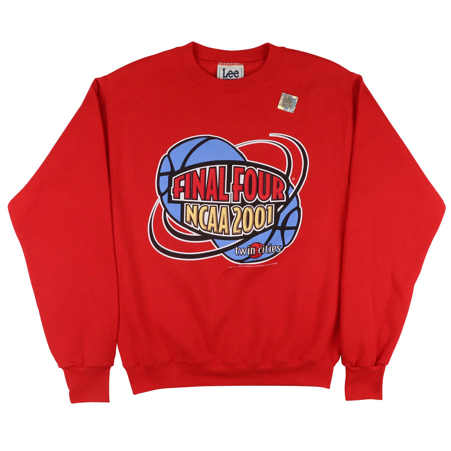 2001 NCAA Final Four Twin Cities Sweatshirt L