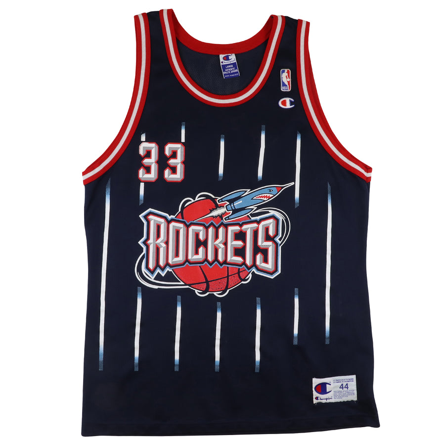 1990s Champion Houston Rockets Scottie Pippen Jersey 44