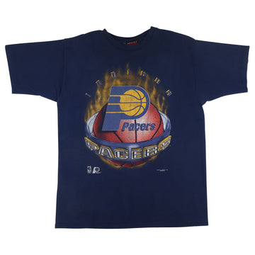 1990s Magic Johnson T's Indiana Pacers T-Shirt XL