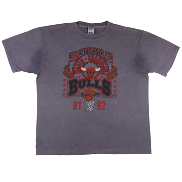 1992 Chicago Bulls World Champions Over Dyed T-Shirt XL
