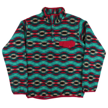 2015 Patagonia Snap-T Synchilla Aztec Fleece Womens Jacket S