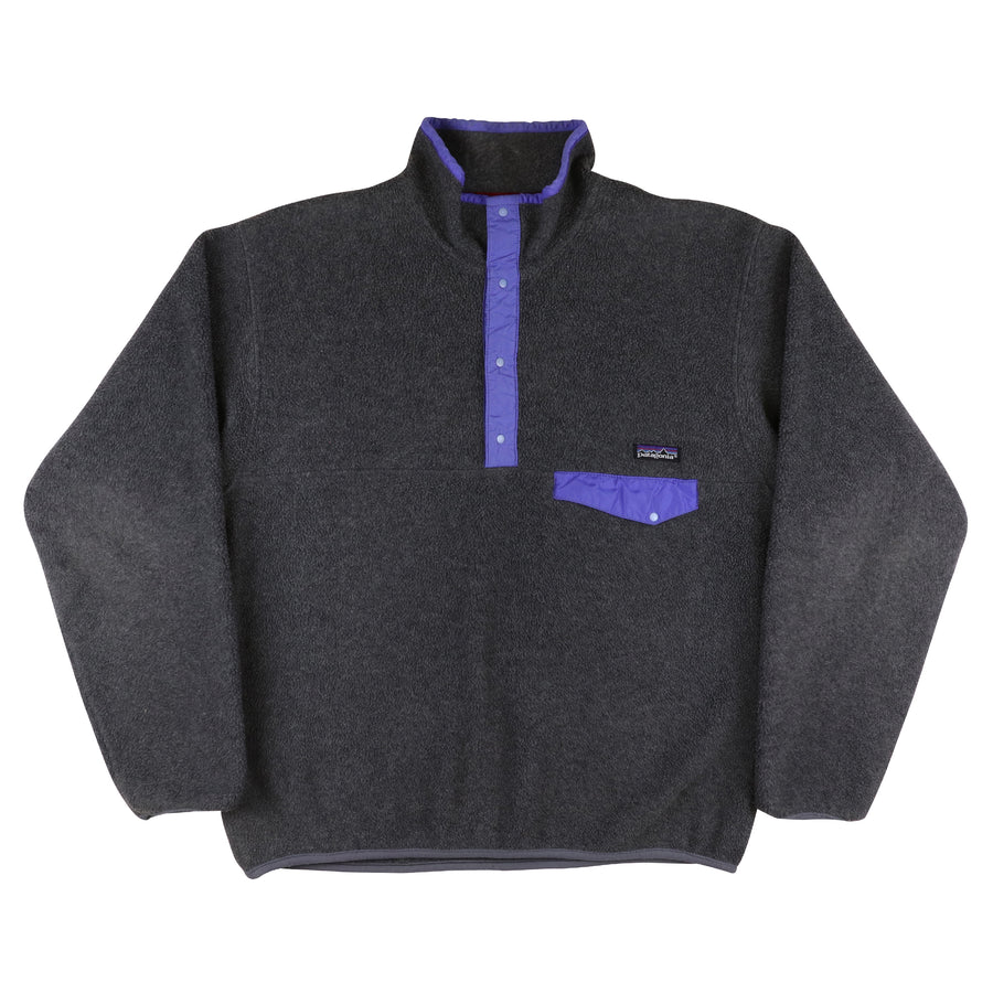 1990s Patagonia Snap-T Fleece Pullover Jacket L
