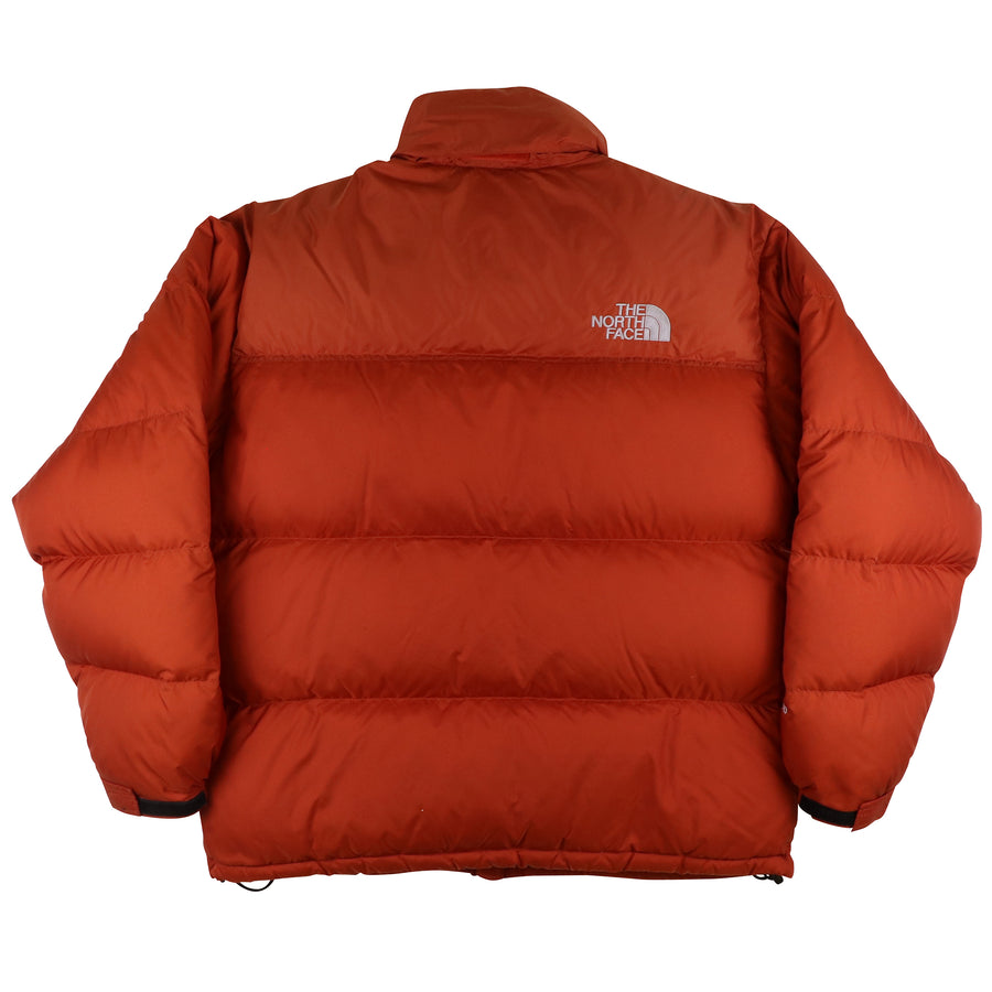2000s North Face Nuptse 700 Fill Down Hooded Jacket L
