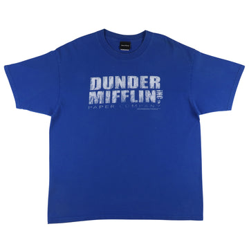 2000s The Office Dunder Mifflin Paper Company T-Shirt XL