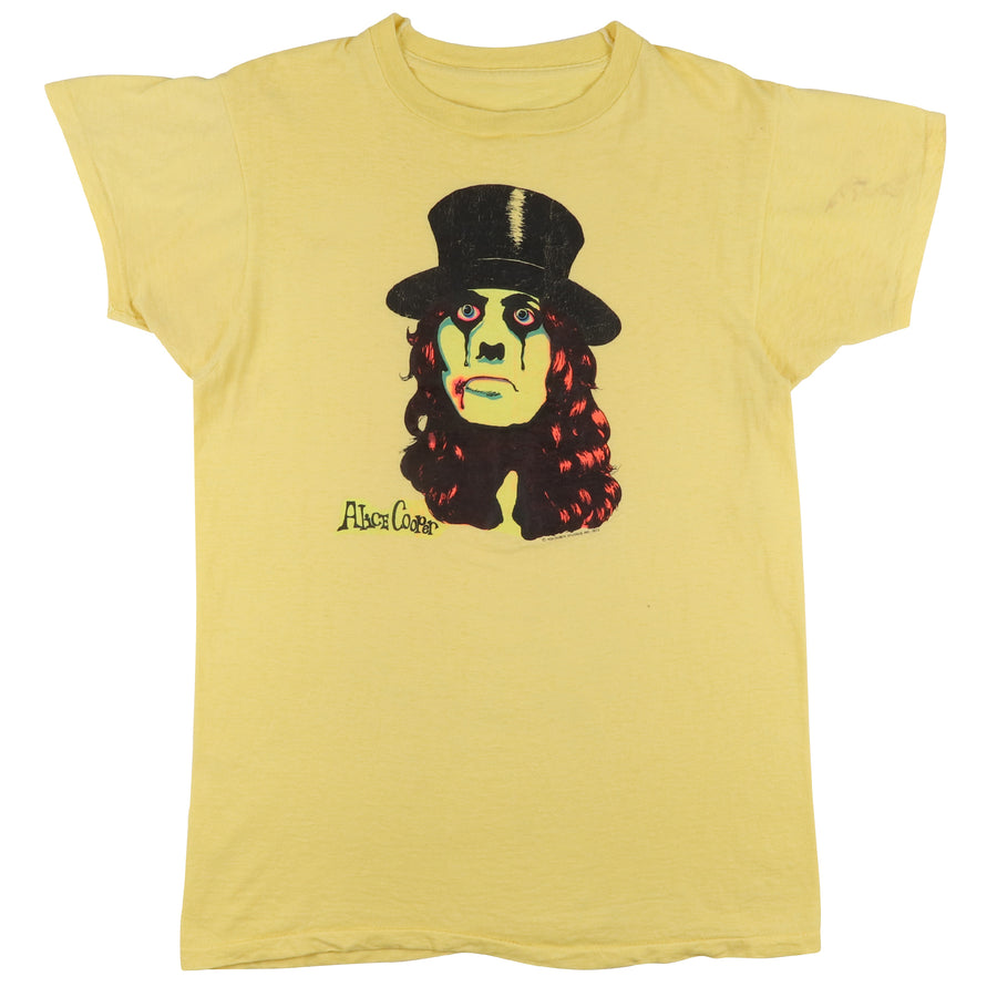 1973 Alice Cooper Billion Dollar Babies Era Head Shop T-Shirt S