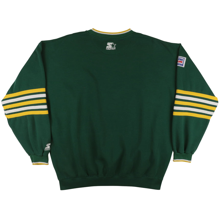 1990s Starter Pro Line Green Bay Packers Sweatshirt XL