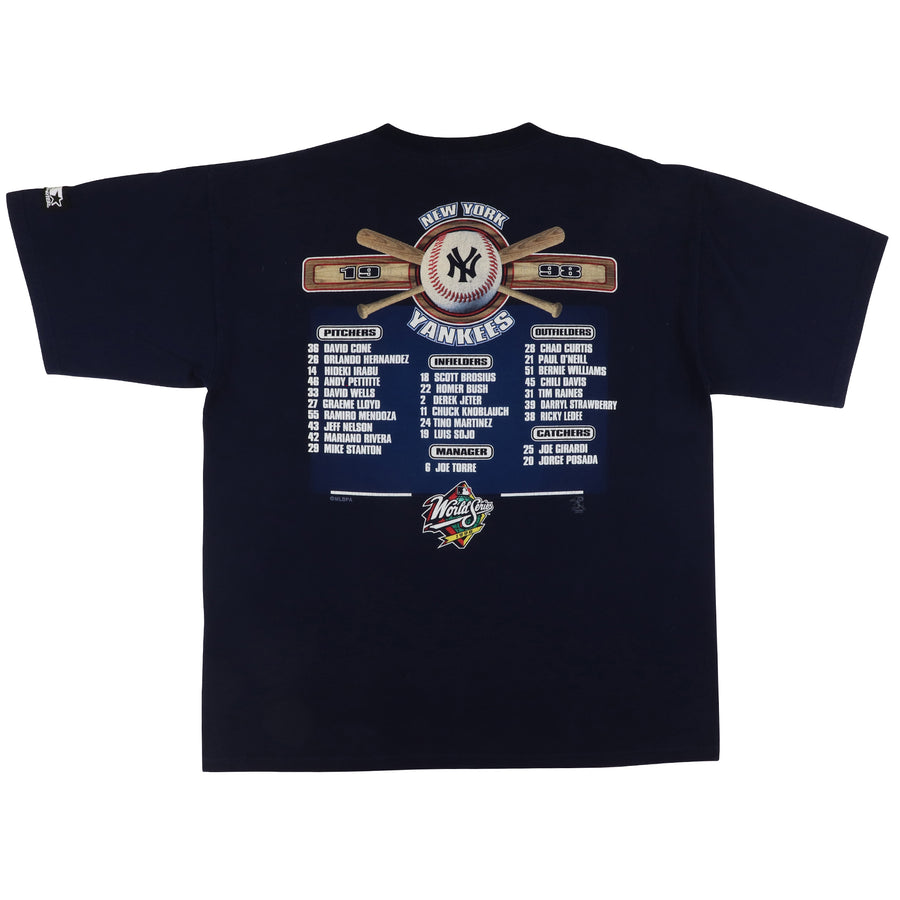 1998 Starter New York Yankees World Series Champions T-Shirt XL