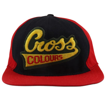 1990s Cross Colours Snapback Hat