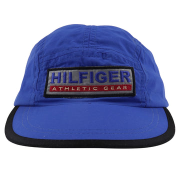 1990s Tommy Hilfiger Athletic Gear 5 Panel Adjustable Drawstring Hat