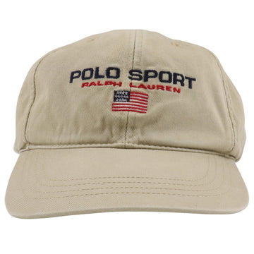 1990s Polo Sport Ralph Lauren USA Flag Strapback Hat