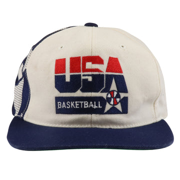 1990s Sports Specialties USA Olympic Basketball Snapback Hat