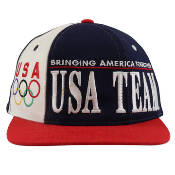 1990s Starter USA Olympic Team Snapback Hat