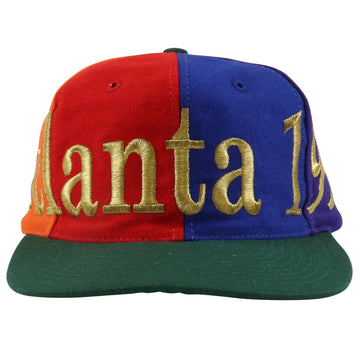 1996 The Game Atlanta Olympic Pinwheel Snapback Hat