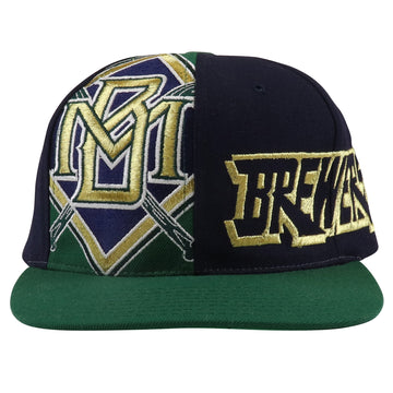 1990s American Needle Milwaukee Brewers Snapback Hat