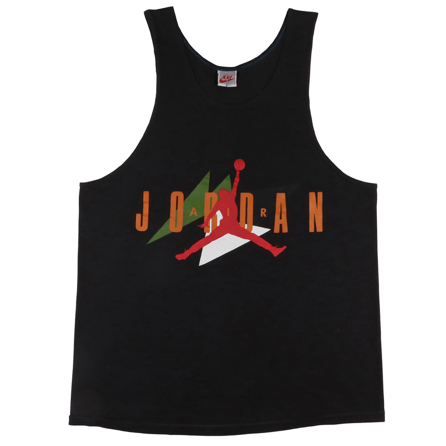 1990s Nike Grey Tag Air Jordan Jumpman Tank Top L
