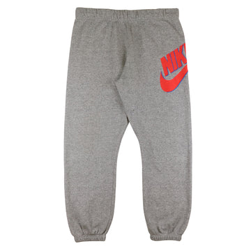 1990s Nike Grey Tag Oversized Swoosh Tri Blend Sweatpants XL