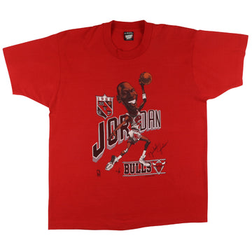 1988 Chicago Bulls Michael Jordan MVP Big Head T-Shirt XL