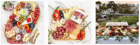 Special event charcuterie tray - Meats, Cheeses, fruits, and vegetables
