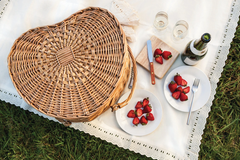 Heart Picnic Basket for a Date