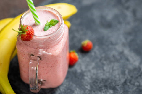 Fruit Smoothie for a summer picnic