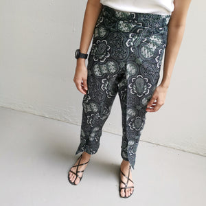 Crop wrap pants