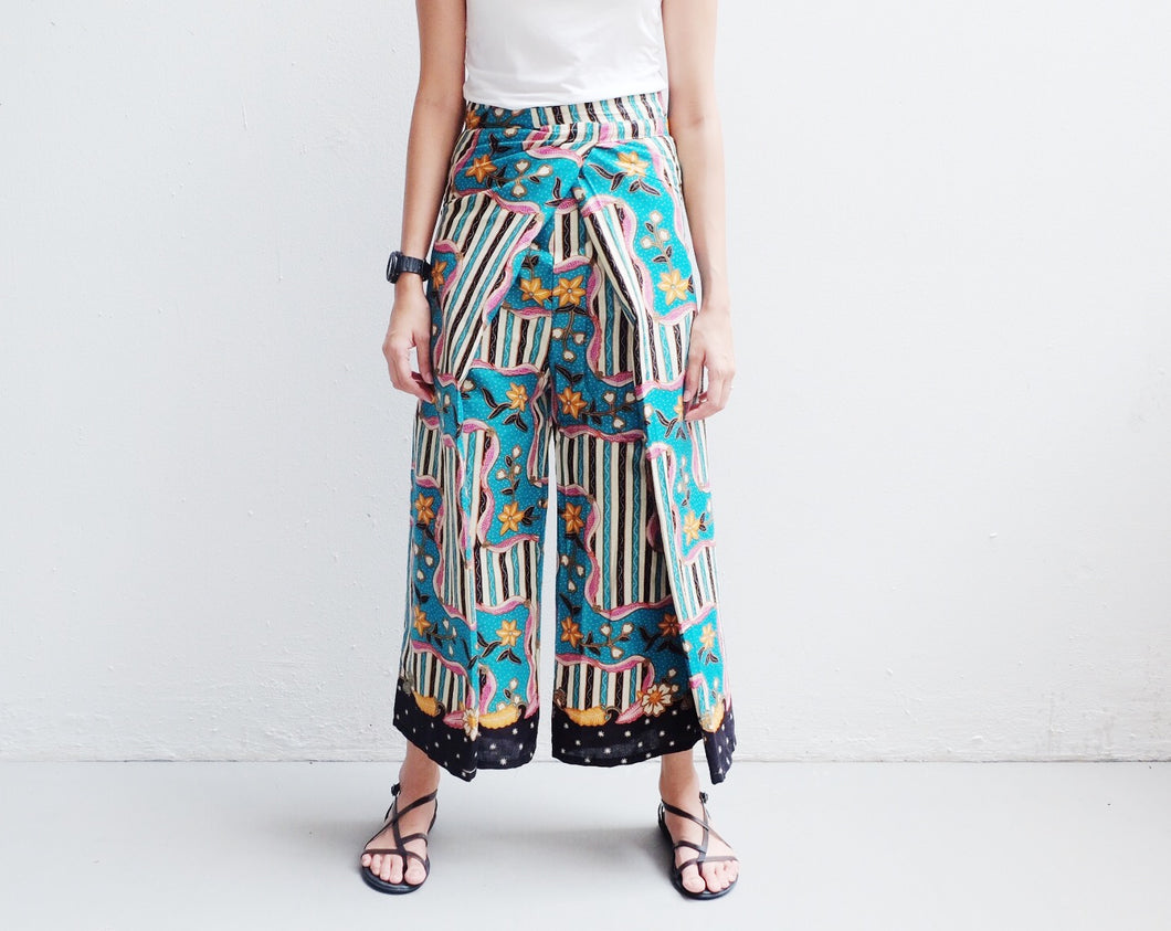 Culotte in Riang - Turquoise CLEARANCE