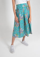 Load image into Gallery viewer, [CLEARANCE] Jasmine Midi Skirt - Turquoise