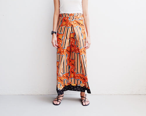 Culotte in Riang - Orange CLEARANCE