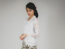 Load image into Gallery viewer, Kebaya lace - White (PROMO)