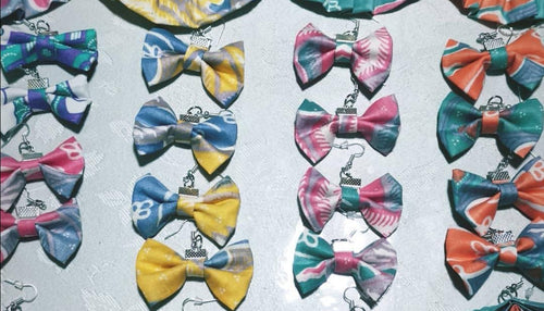 Ribbon Earrings - Alana
