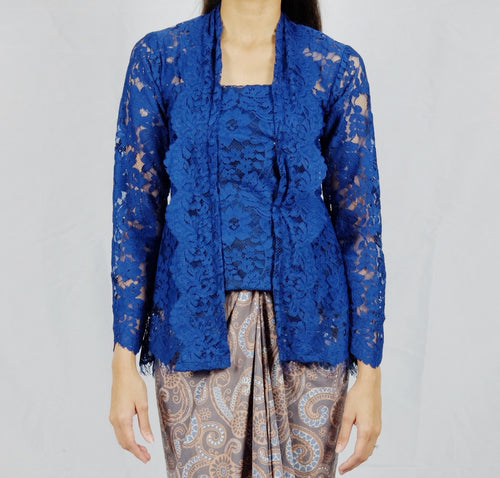 Kebaya lace - Navy blue