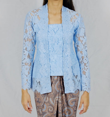 Kebaya lace - Light blue