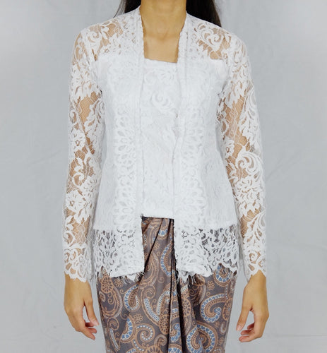 Kebaya lace - White