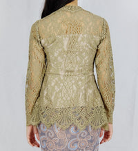 Load image into Gallery viewer, Kebaya lace - Mocca