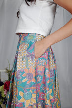 Load image into Gallery viewer, Bunga Midi skirt - Turquoise