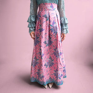 Aurora High Waist Maxi Skirt - Pink