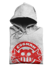 Load image into Gallery viewer, Eggman Empire Red / Sports Grey Hoodie